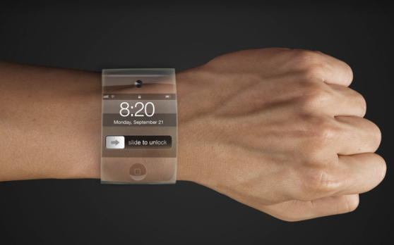 Le device de l'iWatch